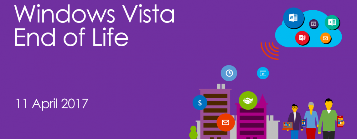 Fin du support Microsoft Vista